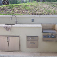 Spring Branch Outdoor Kitchen