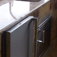 Hill Country Outdoor Kitchen Sink