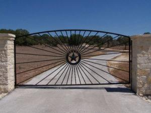 Fredericksburg custom metal gate fencing railing Hill Country general contractor Boerne house remodeling Bulverde swimming pool builder New Braunfels barndominiums