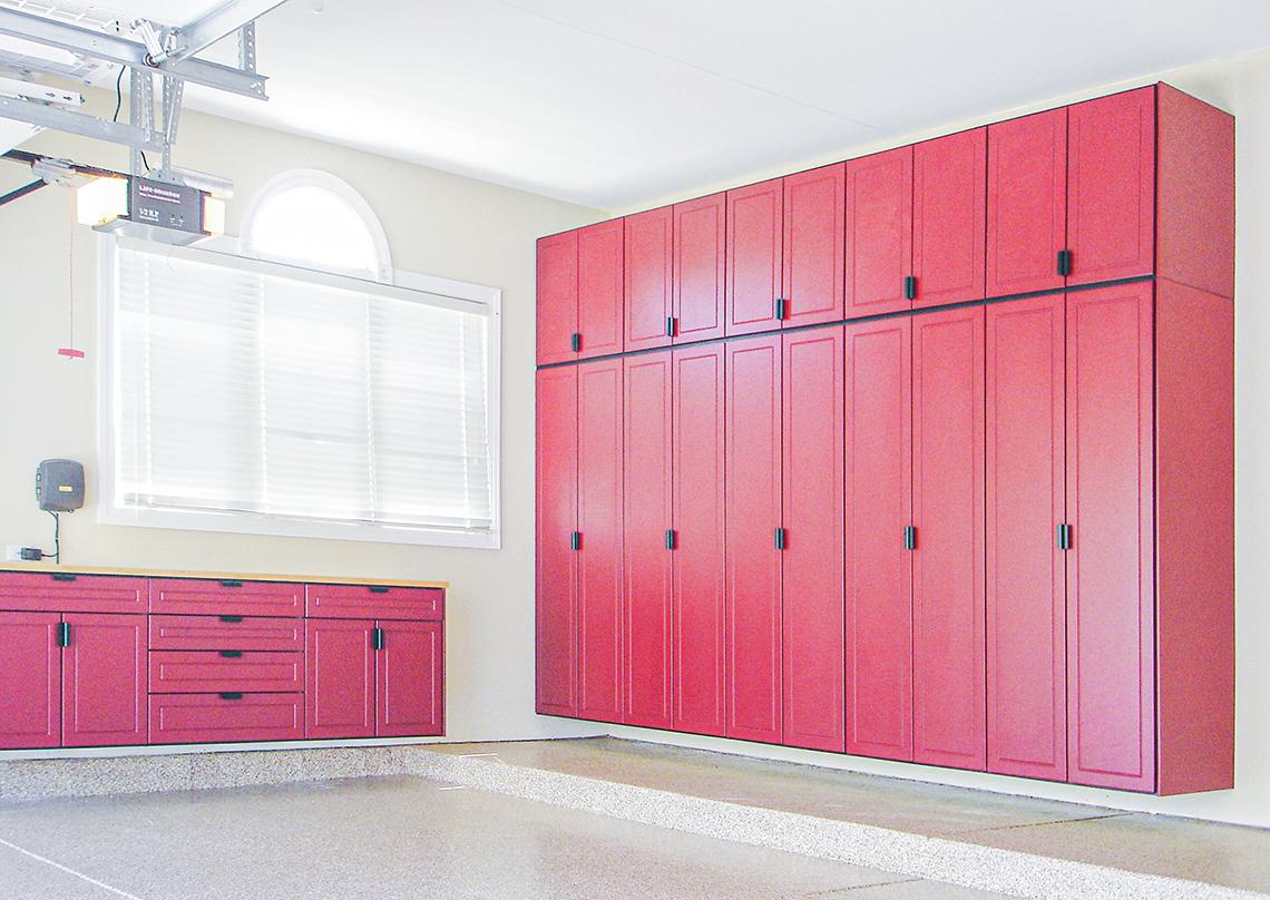 Garage Organization RedLine Garage cabinets West Fargo nd