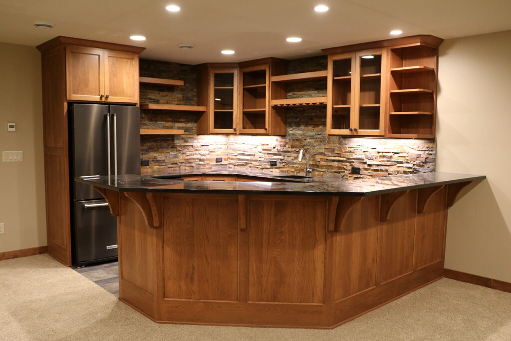 KMA Custom Cabinetry Kitchen Storage West Fargo, ND