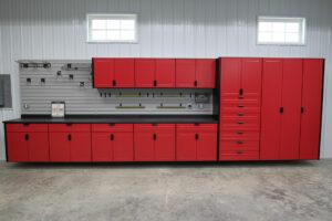 Garage Storage, Cabinets, & Slatwall in West Fargo, ND RedLine GarageGear