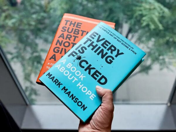 Two Mark Manson Books You Care To Give A F*ck!