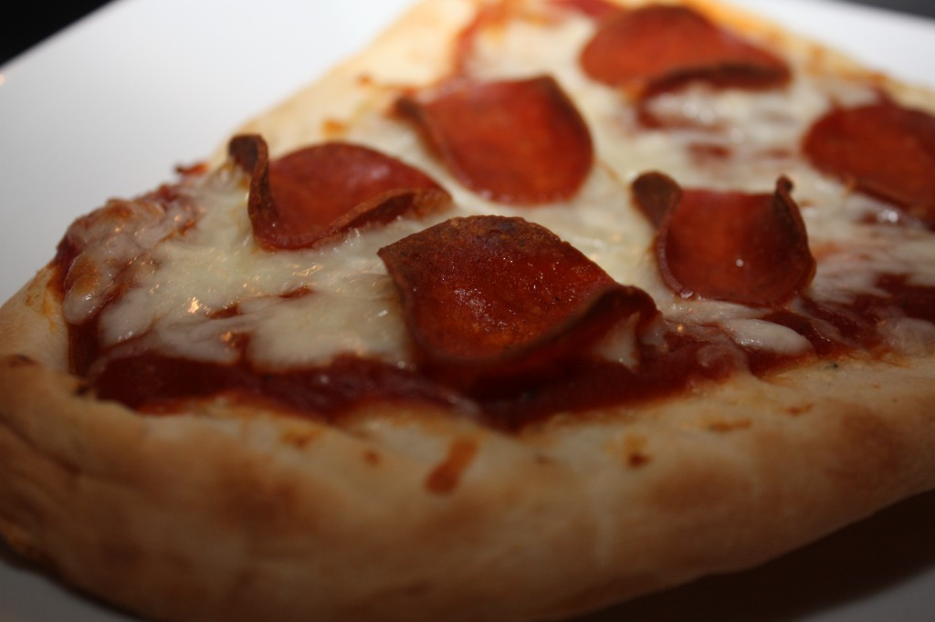 Close Up Naan Pizza