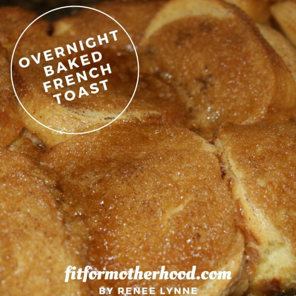 Baked French Toast with Cinnamon Sugar Topping