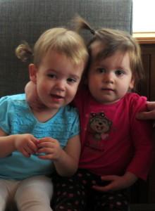 Isabella and Olivia