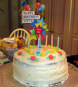 Steve's birthday cake!