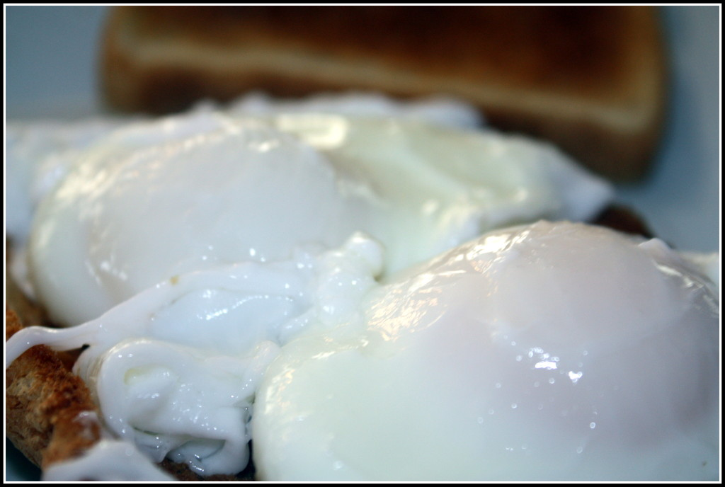 WIAW - Poached Eggs