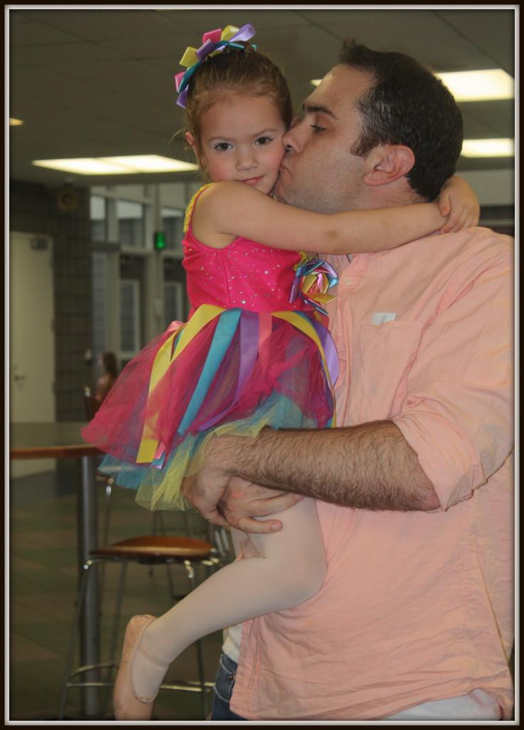 dance recital 2013 - sophia and daddy