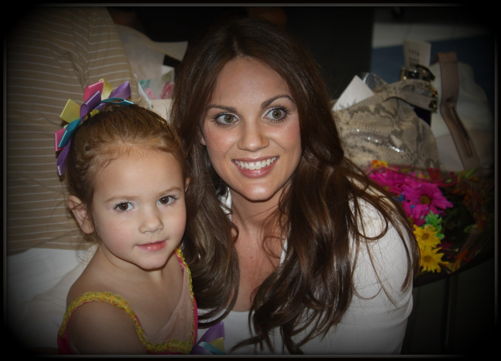 dance recital 2013 - sophia and mommy