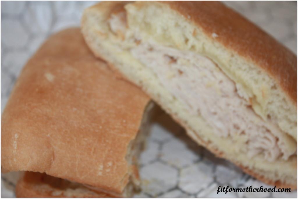 WIAW # 40 - sandwich - tropical Smoothie
