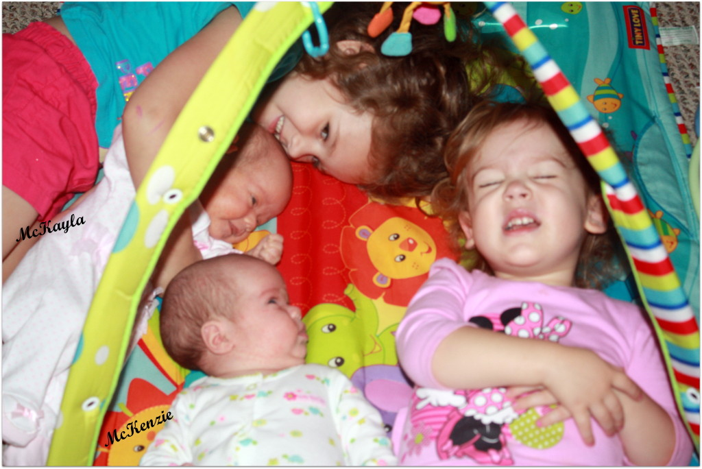 playmat - four girls