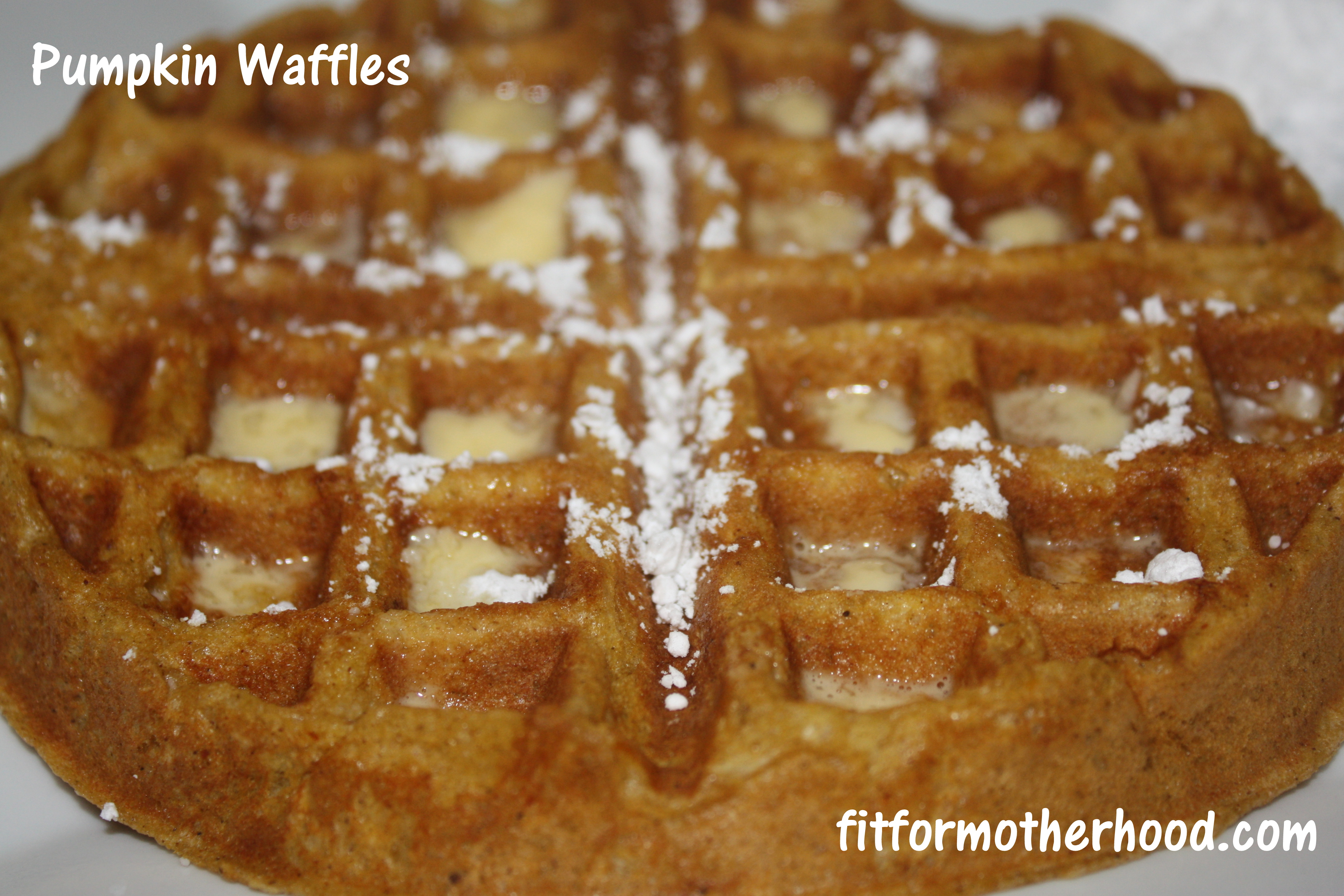 What I Ate Wednesday # 50 – Pumpkin Waffles