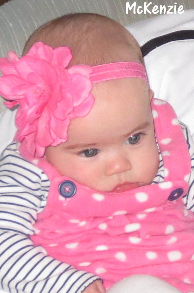 McKenzie and McKayla – 5 Months Old