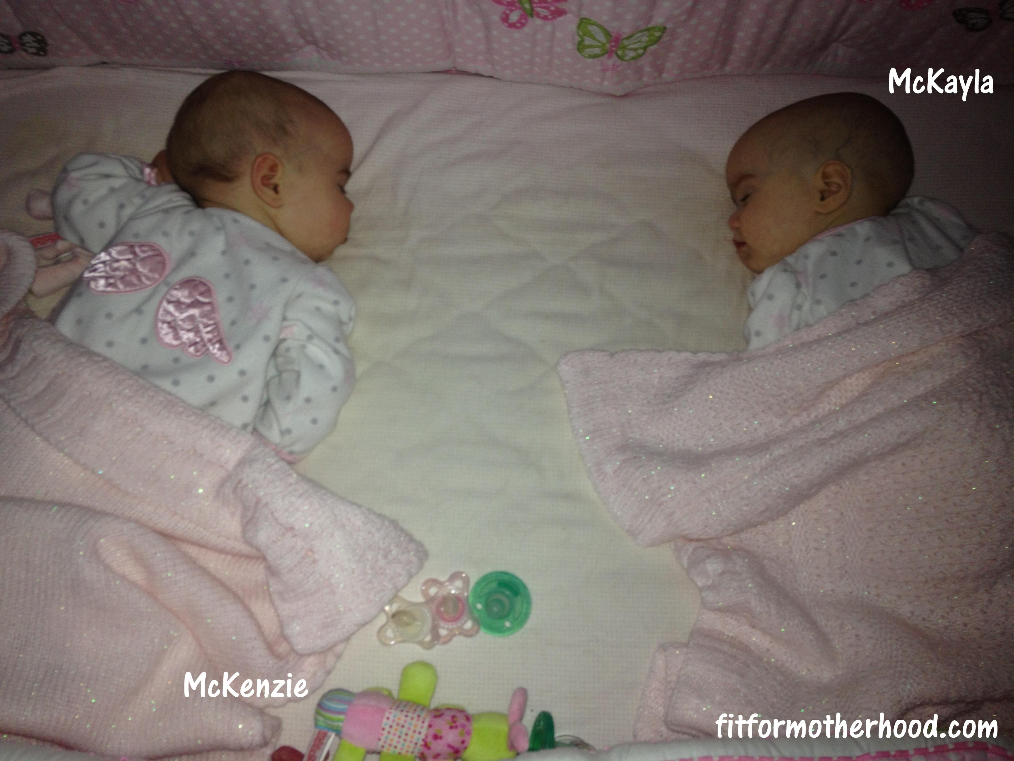 McKenzie and McKayla – 6 Months