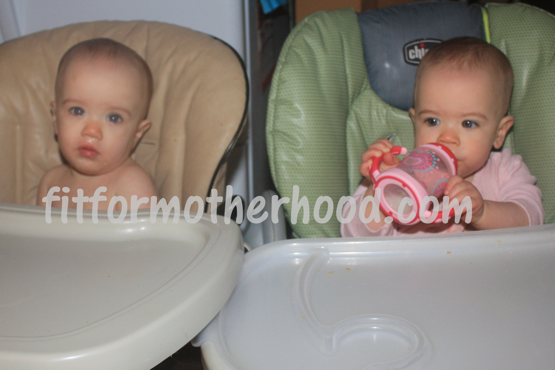 McKenzie and McKayla – 10 Months