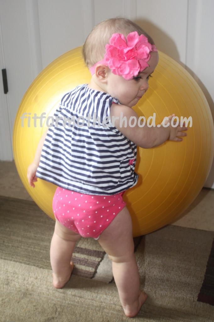 11 months - mckenzie standing