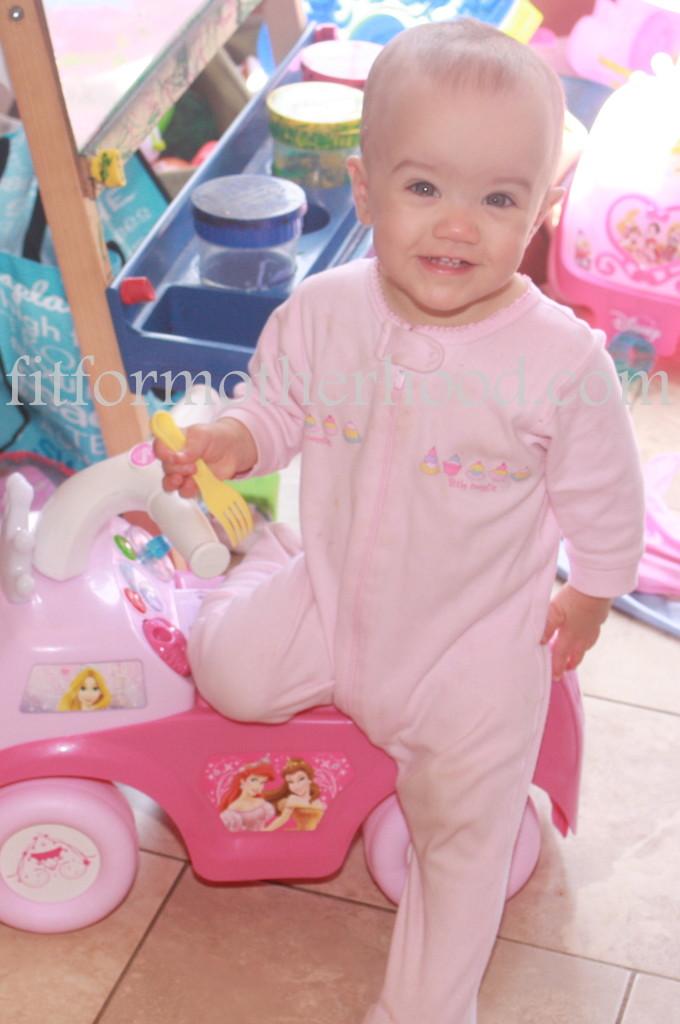 12 months - mckayla princess car smile