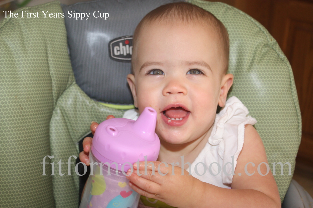 Product Review - first years sippy cup mckenzie