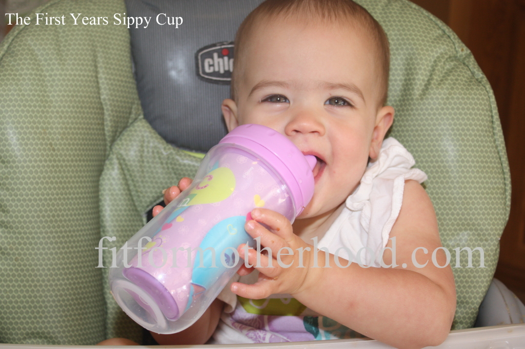 Product Review - first years sippy cup mckenzie 2
