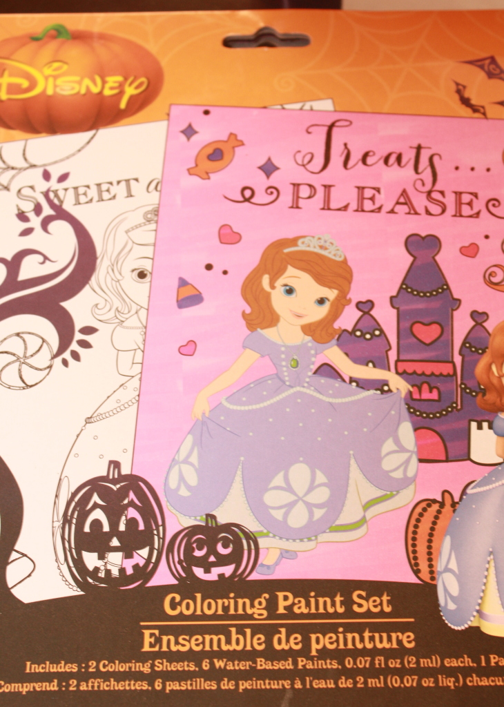 tuesday - halloween painting kit