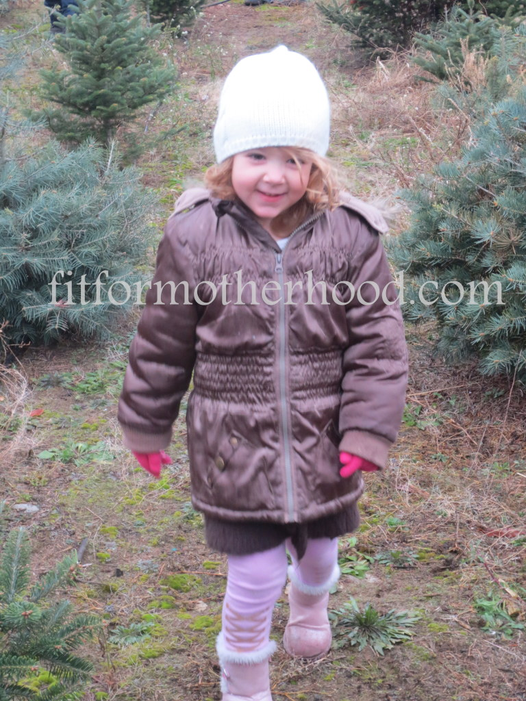 mimm - christmas tree - isabella walking
