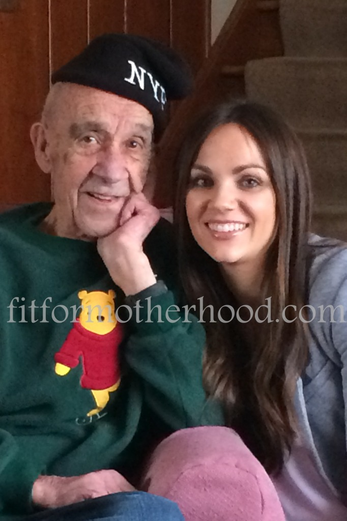 mimm - thanksgiving 2014 - me and grandpa