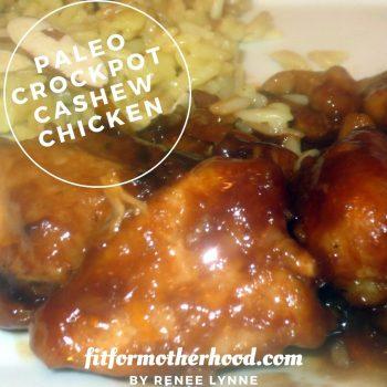 WIAW # 94 – Paleo Crockpot Cashew Chicken