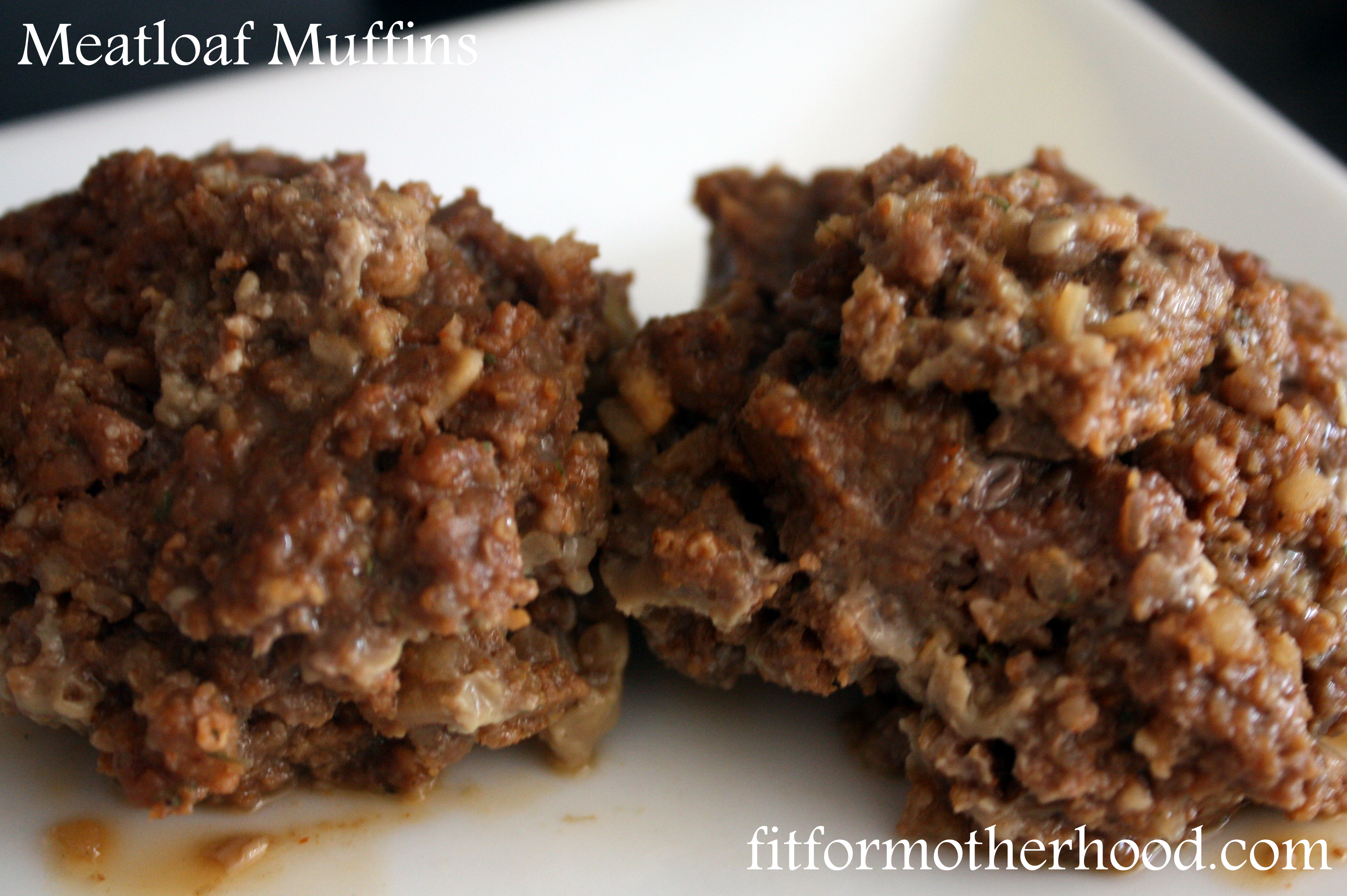 Easy Meatloaf Muffins