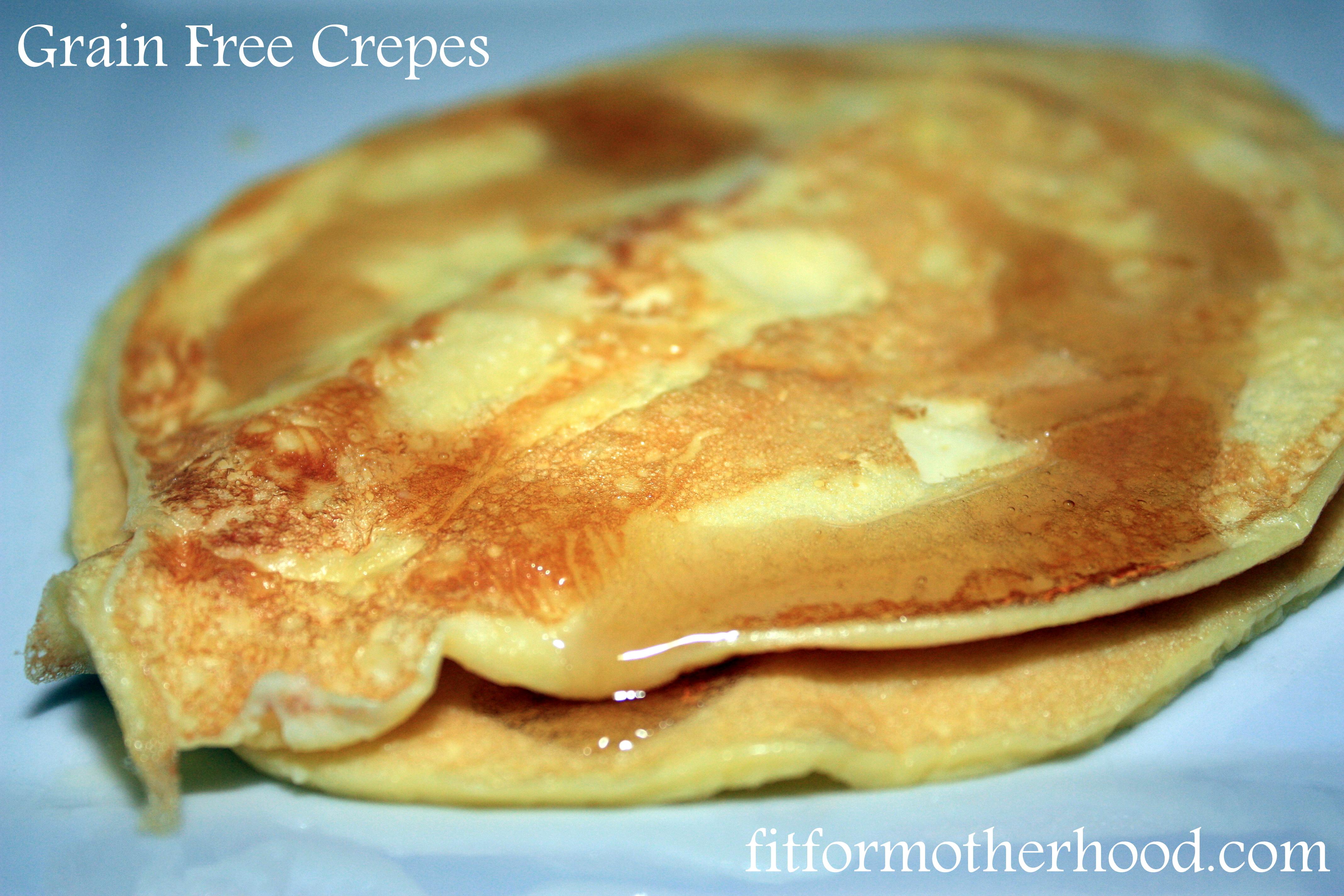 Grain Free Crepes