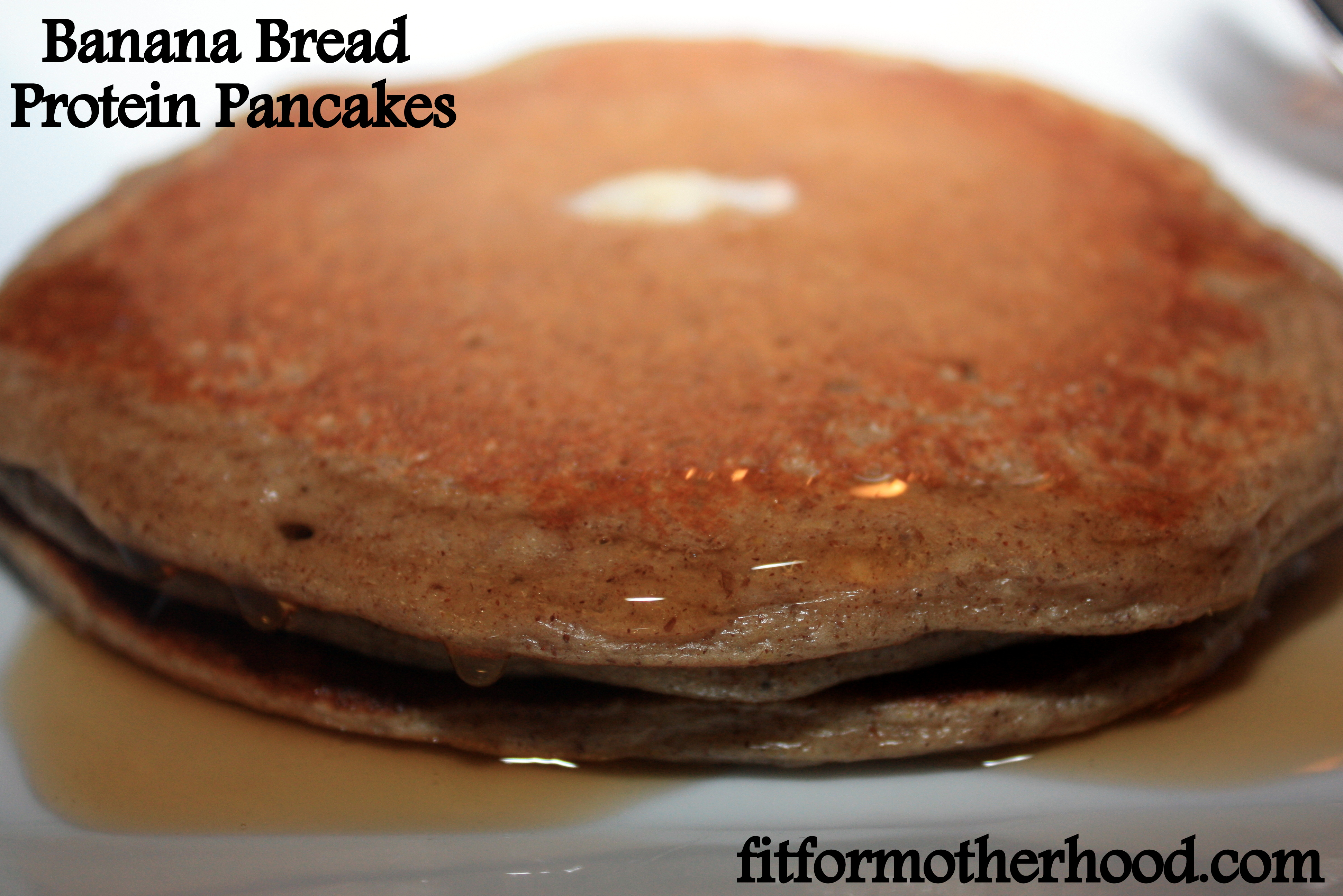 Banana Bread Protein Pancakes (Gluten Free)