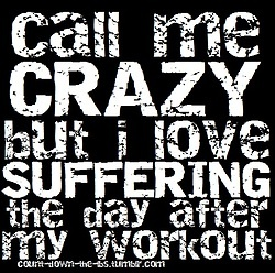 call me crazy suffering