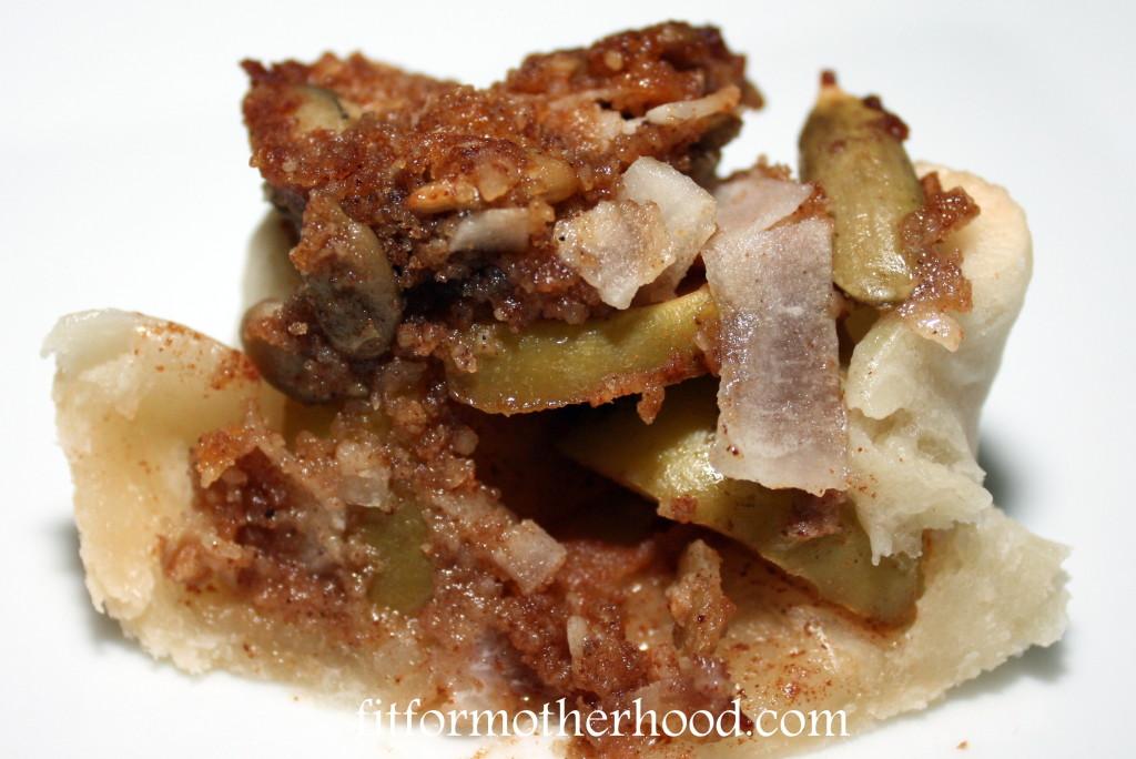 mini apple pie crisps