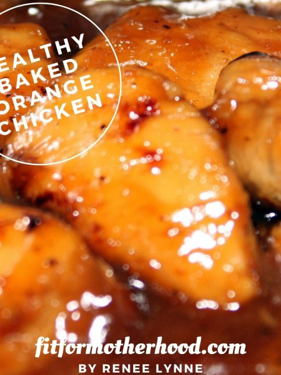 Healthy Baked Orange Chicken | Quick and Easy at Home Chinese Takeout