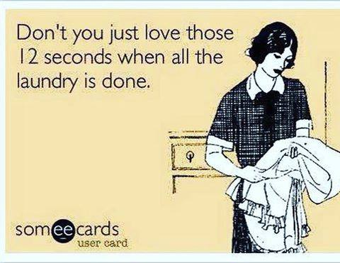 laundry done