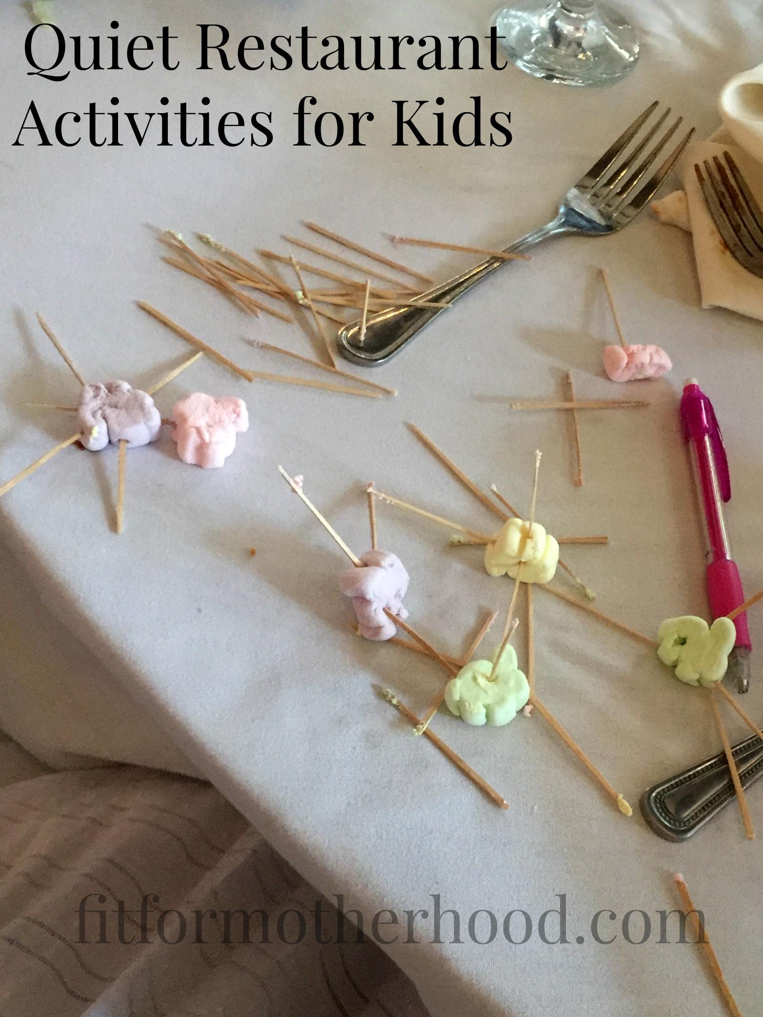 Tip Tuesday – Mini Marshmallows + Toothpicks