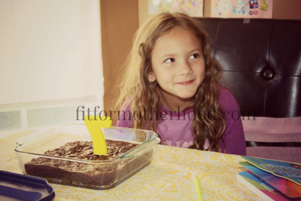 june2016 sophias 7th birthday brownies