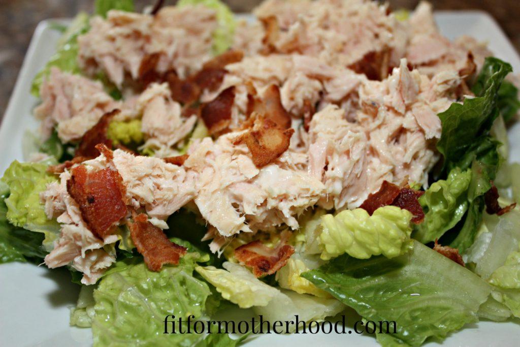 tuna salad with bacon 2