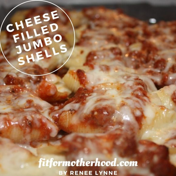 Cheese Filled Jumbo Shells