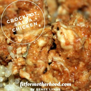 Crockpot Salsa Chicken