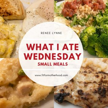 A Day of Food – What I Ate Wednesday