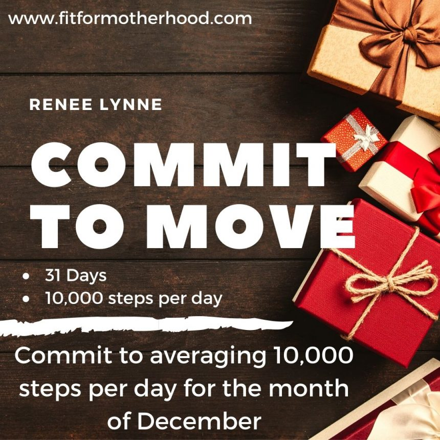December Commit to Move Challenge – 2020