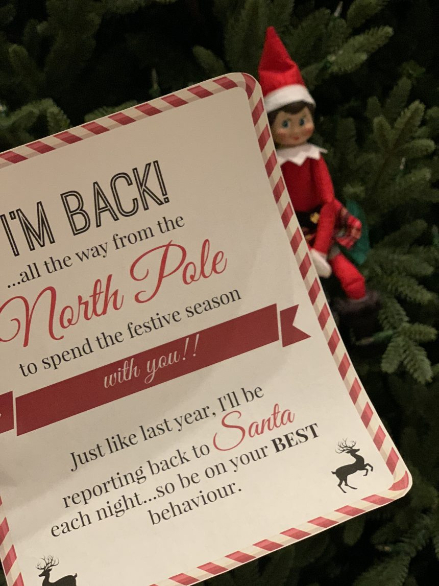 Elf on the Shelf – Just Believe