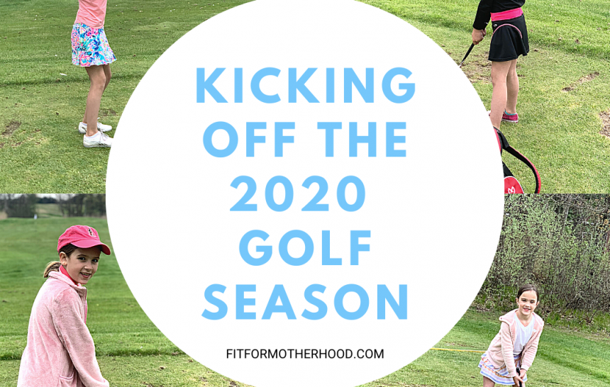 Weekend Happenings – First Day of Golf 2020