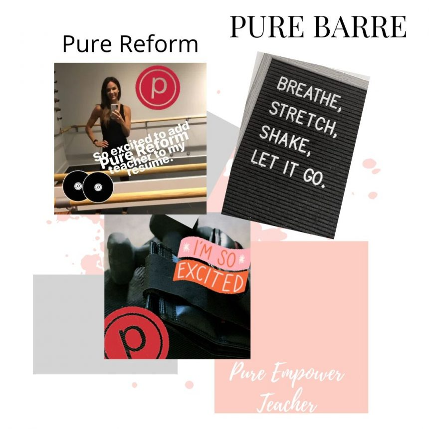 Teaching Pure Barre