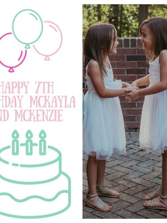 McKayla and McKenzie are SEVEN