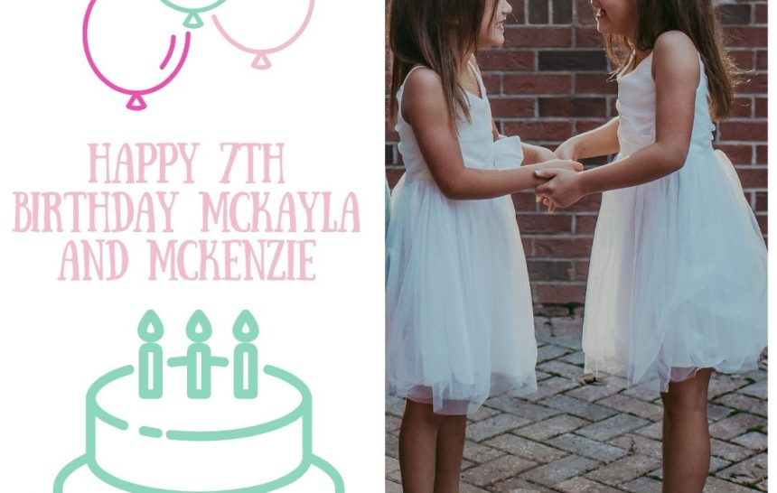 McKayla and McKenzie are SEVEN