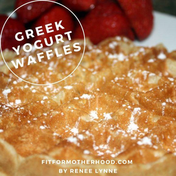 Easy Greek Yogurt Waffles   Healthy Breakfast