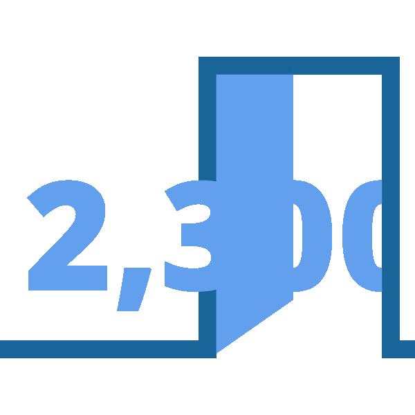 Infographic - 2300 doors