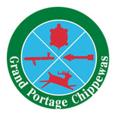 Grand Portage Chippewas logo